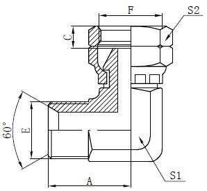 Kreslení kolenního konektoru BSP