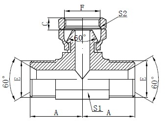 BSP Hydraulické T-výkresy