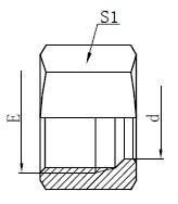 Výkresy hydraulických pojistných matic