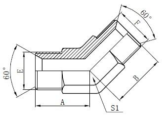 Průmyslové Tube Armatury Kreslení