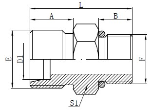 SAE O-kroužek Hadicové konektory hadice