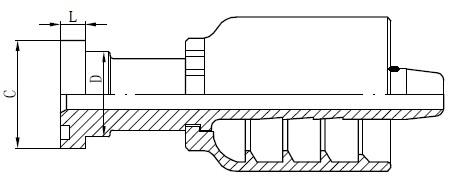 Kreslení konektoru trubice SS
