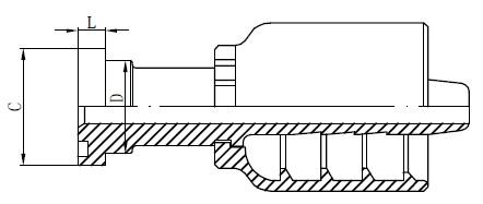 Nerezové hydraulické armatury kreslení