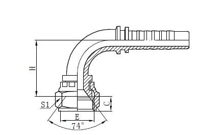 Sestava hadice se dvěma opletenými vodiči